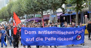 Einige Gedanken zur Demonstration gegen Antisemitismus in Frankfurt am 4. August 2014