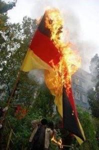 Gegen die Einheitsfeier 2014 in Hannover