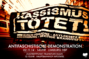 02.11.14 – Rassismus tötet! Demo in Limburg