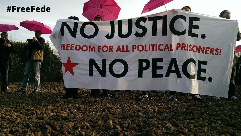 Freiheit für alle politischen Gefangenen! #freefede !