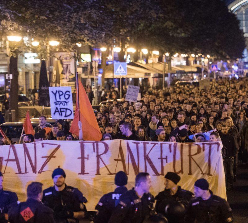 24.09.17 – Not in our name! Auf die Straße gegen Afd und Rechtsruck!